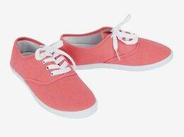 Обувь для спорта - Коралловые теннисные туфли (полукеды), р.38 , 0