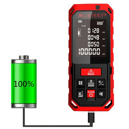 Измерительные инструменты и приборы - Лазерный дальномер Mileseey S7 40m, 0