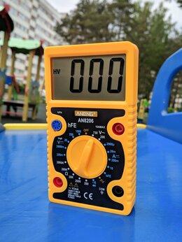 Измерительные инструменты и приборы - Мультиметр цифровой, 0