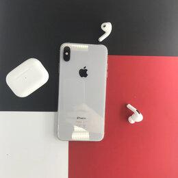 Мобильные телефоны - iPhone XS Max Silver 512gb бу Ростест, 0