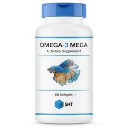 Настольные игры - Omega 3 Mega 60 softgels Омега 3 SNT, 0