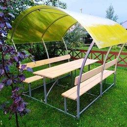 Комплекты садовой мебели - Беседка для дачи из поликарбоната, 0