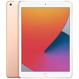 Планшеты - iPad 10.2 (2020) 32 LTE Gold- Новый, 0