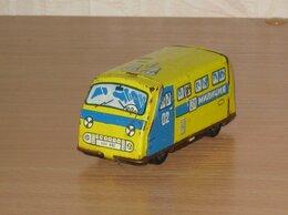 Машинки и техника - 🚐 Микроавтобус 02 милиция СССР Раф Ераз жестяной, 0