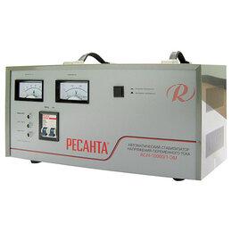 Стабилизаторы напряжения - Стабилизатор напряжения Ресанта асн-10000/1-эм, 0