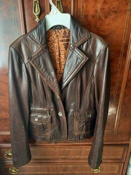 Пиджаки - Пиджак женский нат. кожа, размер 46,винтаж, 0