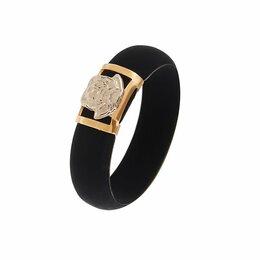 Кольца и перстни - Золотое кольцо каучук в стиле Версаче  - арт…, 0