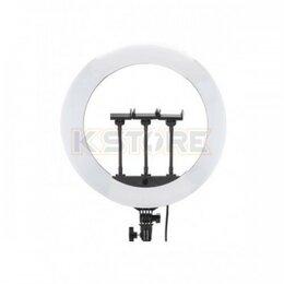 Осветительное оборудование - Кольцевая лампа Jmary FM-18R, 43.5 см, пульт ДУ, 0
