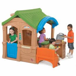 Лежаки, домики, спальные места - Домик с грилем, 0