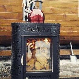 Камины и печи - Отопительная печь-камин Нелжа от завода Ферингер для дома и дачи, 0