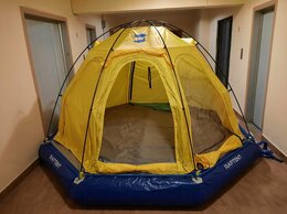 Палатки - Надувной моторно-гребной плот с палаткой RAFTENT, 0