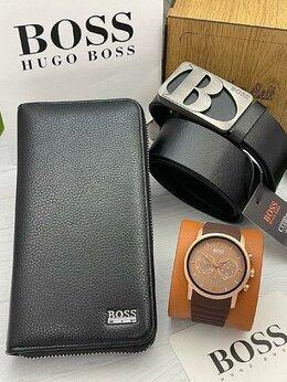 Ремни и пояса - Подарочный набор для мужчин Boss. Нат. Кожа, 0