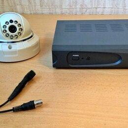 Готовые комплекты - Видеонаблюдение полный комплект: регистратор, камера, микрофон, сейф, 0