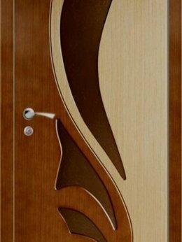 Межкомнатные двери - Межкомнатная шпонированная дверь Лилия, 0