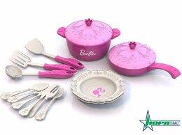 Сервизы и наборы - Нордпласт 634 Набор кухонной посудки Барби 15пр.…, 0