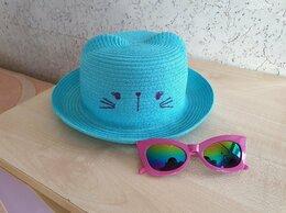 Головные уборы - Детская шляпка с ушками р.50 + солнечные очки, 0