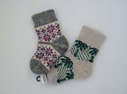 Колготки и носки - Носки шерстяные, 0