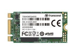 Внутренние жесткие диски - Твердотельный диск 64GB Transcend MTS400S M.2 SATA, 0