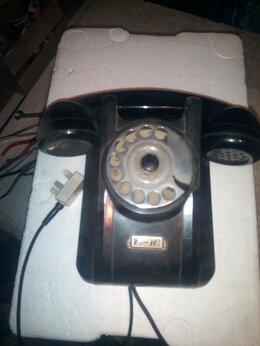 Проводные телефоны - Телефонный аппарат настенный ретро 1967г, 0