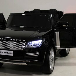 Электромобили - Детский электромобиль Range Rover HSE 4 WD , 0