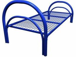 Кровати - Кровати металлические одноярусные сеткой …, 0