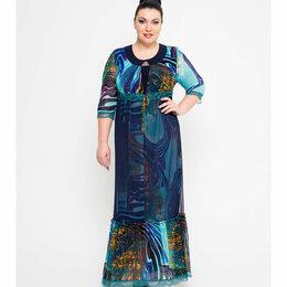 Платья - Платье большого размера KR стиль р.60, 0