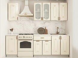 """Мебель для кухни - Кухонный гарнитур """"Бергамо 1.6"""" (белый/капучино…, 0"""