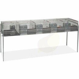 Клетки и домики  - Клетка для кроликов 230 см пятисекционная для…, 0