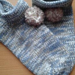Колготки и носки - Вязаные носки тапочки новые , 0