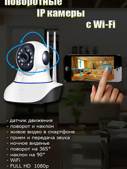 Видеокамеры - IP камера с wifi, 0