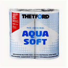 Туалетная бумага и полотенца - Туалетная бумага Aqua Soft 4 рул ( Аква Софт ), 0