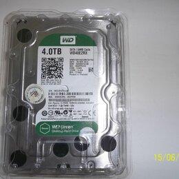 Жёсткие диски и SSD - ЖЕСТКИЙ ДИСК WD40EZRX 4TB, 0