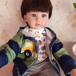 Куклы и пупсы - Новая кукла реборн 60см мальчик, 0