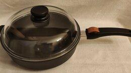 Сковороды и сотейники - Сковорода SKK Titanium с крышкой Германия, 0