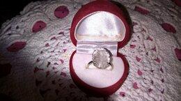 Кольца и перстни - кольцо антикварное серебро 926 горный хрусталь, 0