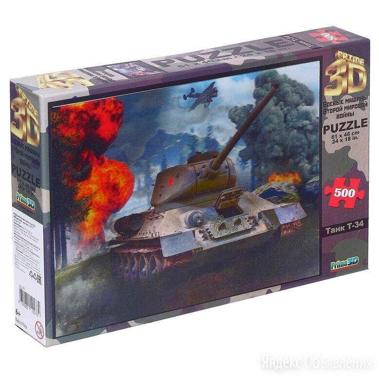 3D Пазл «Танк Т-34» по цене 1350₽ - Пазлы, фото 0