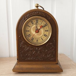 Часы настольные и каминные - Настольные часы Янтарь, СССР , 0