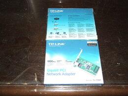 Сетевые карты и адаптеры - Есть 2 сетевые карты TP-link TG-3269, 0