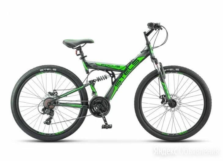 Горный (MTB) велосипед Focus MD 27.5 21-sp V010 синий/неоновый-красный по цене 24960₽ - Велосипеды, фото 0