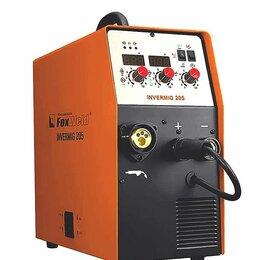 Сварочные аппараты - Сварочный полуавтомат FoxWeld Invermig 205, 0