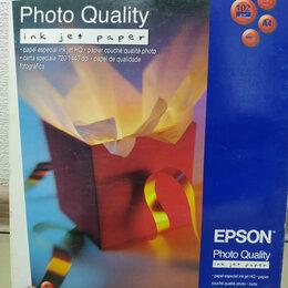 Бумага и пленка - Бумага для фотопечати матовая 100 листов Epson S041061 , 0