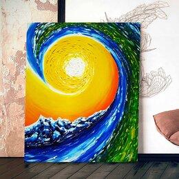 """Картины, постеры, гобелены, панно - Картина """"Самоизоляция. Тридцать какой-то день.."""", 0"""