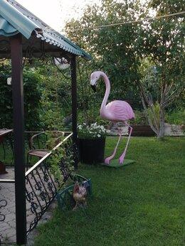Садовые фигуры и цветочницы - Садовая фигура Фламинго, 0