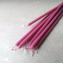 Товары для гадания и предсказания - Пурпурные (лиловые) восковые свечи часовые, 0