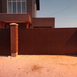 Заборы, ворота и элементы - Откатные ворота , 0