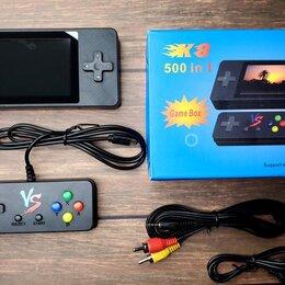Ретро-консоли и электронные игры - Игровая приставка GAME BOX K 8 500 игр, 0