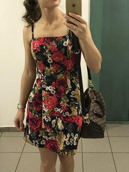 Платья - Платье с цветами , 0