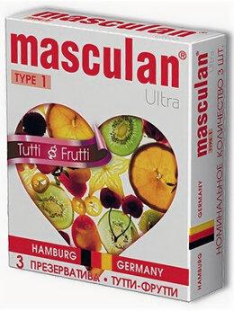 Презервативы - Жёлтые презервативы Masculan Ultra Tutti-Frutti…, 0