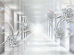 """Обои - Фотообои  """"3D Тоннель с бриллиантами, 0"""