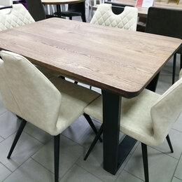 Столы и столики - Деревянный стол ПР-5 в стиле ЛОФТ, 0